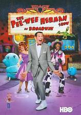 New: THE PEE-WEE HERMAN SHOW ON BROADWAY (Paul Reubens) DVD Free Shipping!!!