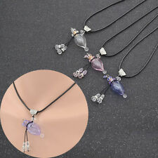 Empty Pendant Perfume Bottle Fragrance Jewelry Vial Necklace for Essential Oil