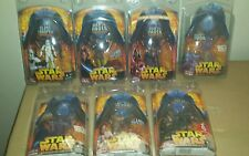 Star Wars Episode III Revenge of the Sith 6 EXCLUSIVE Action Figures NEW