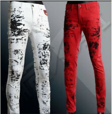 Mens Fashion Designed Casual New Slim Fit Skinny Jeans Long Pants Trousers