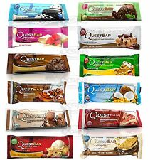 Quest Bars Box/12 Bars Quest Nutrition Select Flavor / Variety Box Always Fresh