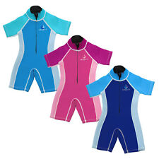 Legacy Baby Toddler Shorty Wetsuit Beach Kids Swim Pool Boys Girls Front Shortie