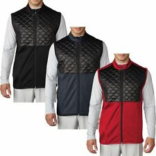 Adidas Golf 2016 Climaheat Prime Fill Gilet Insulated Quilted Mens Golf Vest