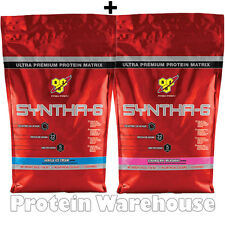 2 x 10 Servings BSN Syntha 6 Whey Protein 470g - 480g Not Edge Syntha 6 Free P&P