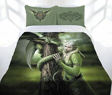 Anne Stokes Kindred Spirits Dragon Fairy Angel Quilt Cover Set DOUBLE QUEEN KING