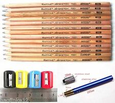 13 Pc Sketch Drawing Pencil 3H 2H H 3B 4B 7B 8B 9B Tool Set Extender Sharpener