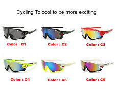 UV400 HD Outdoor Sport Cycling Bicycle Bike Riding Sun Glasses Eyewear Goggles