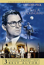 To Kill a Mockingbird (Collector's Edition) Widescreen DVD NEW SEALED