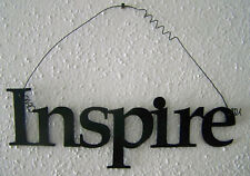 """INSPIRE """"Words to Live By"""" Wall Art Hanging Metal Sign"""