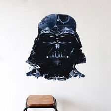 Darth Vader Star Wars Wall Decal and Star Wars Removable Wall Decal Mural