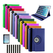 360 Degree Rotating PU Leather Stand Case Cover for Apple iPad Mini 1 / 2