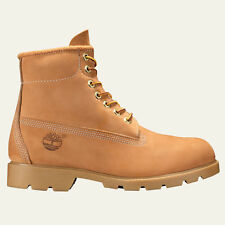 NEW MEN'S TIMBERLAND 6 INCH WATERPROOF BASIC BOOTS [10066]  WHEAT NUBUCK