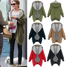 Womens Winter Warm Coat Hooded Parka Overcoat Hoodies Military Jacket Outerwear