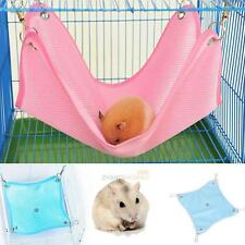 Hammock Bed Net Cloth House Cage Hanging Bed Mat for Rat Ferret Hamster Mouse