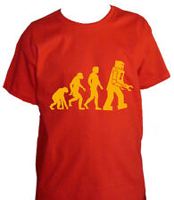 fm10 t-shirt baby/a EVOLUTION ROBOT Big Bang Theory Sheldon CINEMA&TV
