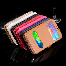 Fashion Stand Flip Wallet Leather Skin Case Cover For Samsung Galaxy S5 i9600