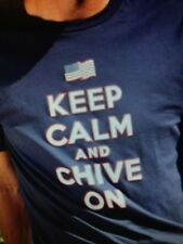 the Chive *Authentic* Keep Calm and Chive On America mens t M L XL XXL XXXL KCCO