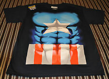 NWOT Marvel Comics Men's Captain America T-Shirt (M, L) Costume Shirt Halloween