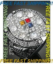 2008 Pittsburgh Steelers Rothlisberger Super Bowl Championship Ring Size 7 - 11