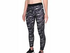 More Mile Womens Ladies Go For It Ladies Running Tights - Black