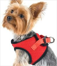 Doggie Design Ultra Choke Free Step-In Dog Harness Red NWT (Small Medium Large)