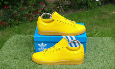 BNWB Adidas Originals Stan Smith AdiColor Yellow Leather Trainers Various Sizes