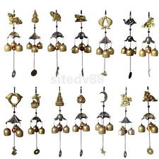 Various Chinese Copper Feng Shui Hanging Wind Chime 3 Bells Ornament Decor