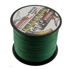 Moss Green 100-1000M 6-100LB Super Strong Dyneema Braided Saltwater Fishing Line