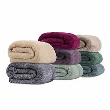 NWT Members Mark Oversize Cuddly Cabin Throw soft Blanket High Pile Plush/Sherpa