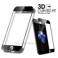3D Curved Full Cover Glass Tempered Glass Screen Protector For iPhone 7 7 Plus