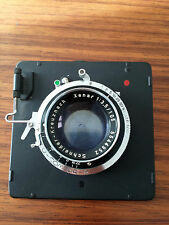 Schneider Xenar 3.5 105mm Compur Graflex Super Graphic lensboard Large Format