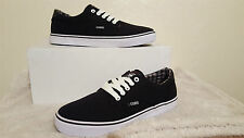 OSIRIS SHOES SLAPPY BLACK WHITE MENS UK SIZE 8 NEW UNBOXED SKATEBOARDING