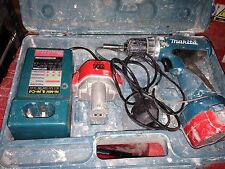 Makita Cordless Drill and driver set 12v 6270D X2 Batteries & Charger, Cased