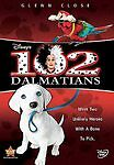 Disney 102 Dalmatians DVD 2008 GLENN CLOSE  RARE OUT OF PRINT  !!!!