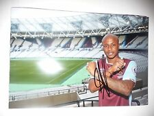 ANDRE AYEW WEST HAM UNITED FC HAMMERS HAND SIGNED 12X8 PHOTO NEW STOCK