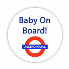 BABY ON BOARD (Above Sign) Button Badge 38,45 & 58mm Pin Lapel Pregnant New Mum