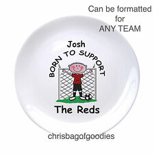 PERSONALISED FOOTBALL TEAM PLATE Gifts Present for ALL TEAMS Him Her Christmas