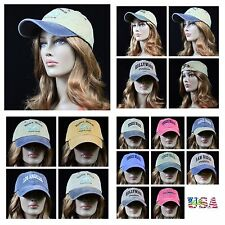 Baseball Cap Washed Vintage Caps Foldable Ball Unisex Hat Faded Casual Hats