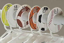 Sports boy #c47 Baby Closet Dividers Clothes Organizers 6