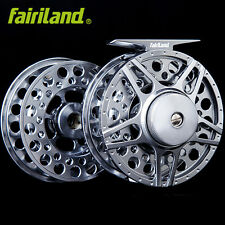 80mm 3/4 3BB large arbor metal  fly fishing reel with extra spool fly reel set