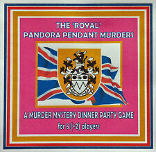 HOST A 'ROYAL' MURDER MYSTERY DINNER PARTY GAME ~ FOR 8(+2) PLAYERS*
