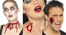 Halloween Wounds Fake Horror Prosthetics Flesh Coloured Blood Party latex