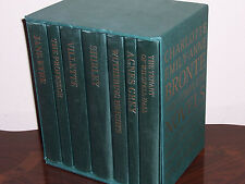 Folio Society Complete Novels - Charlotte, Emily and Anne Bronte in 7 vols
