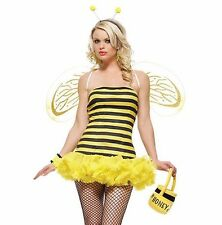 Clearance - Sexy Leg Avenue Honey Bee Fancy Dress Hen Night Costume  8 10 12