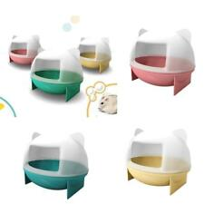Mouse Hamster Gerbille Pet Bathroom Bath Cage Box Hamster Toys Toilet PICK Color