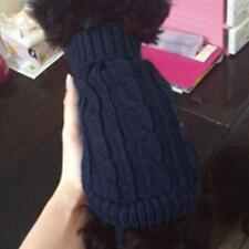 Pet Dog Puppy Turtleneck Knitwear Sweater Clothes Apparel Winter Coat 4#-12#