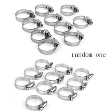 10PCS STAINLESS STEEL JUBILEE FUEL HOSE CLAMPS PIPE CLIPS CLIP AIR WATER 8-76mm
