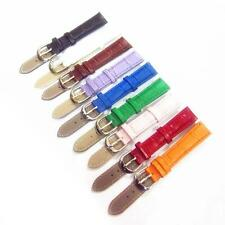 12mm 14mm 16mm 18mm 20mm 22mm 24mm Multi Colors Genuine Leather Watch Band Strap