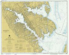 Chesapeake Bay - Severn River & Magothy River Historical Map - 1977