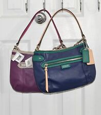 Coach Bag Daisy Spectator Leather With Removable Cross-body Strap F23951